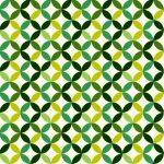 ガラスフィルムのパターン柄でおしゃれな柄の緑