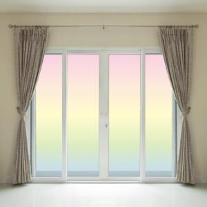 ガラスフィルム,目隠し,日よけ,シール,遮熱,陽の光を遮るガラス,ガラス装飾,店舗用ガラス,ウィンコス,3Mガラスフィルム