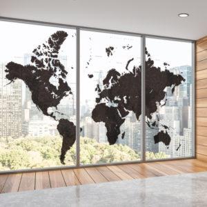 世界地図 壁紙 フィルム